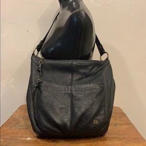 The Sak Leather Handbag Shoulder Bag Purse GUC